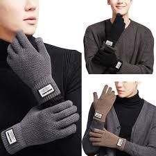 Зимой <b>теплые</b> трикотажные <b>перчатки сенсорный</b> экран перчатки ...
