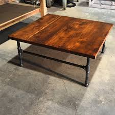 coffee table made from reclaimed wagon wood potter design cheap reclaimed wood furniture