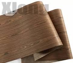 <b>L:2.5Meters Width</b>:600mm <b>Thickness:0.2mm</b> Acid Wood Veneer ...