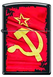 <b>Зажигалка</b> Серп и Молот <b>Zippo</b> 218 Soviet Flag Sickle, <b>Зажигалки</b> ...