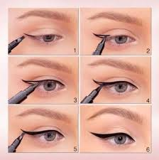 28 Ideas <b>Makeup</b> Simple Tutorial Winged Liner #<b>makeup</b> in 2019 ...