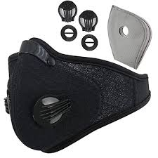 Reliablee Dust Mask <b>Cycling Activated Carbon Dustproof</b> Mask ...
