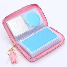 born pretty mermaid holo snakeskin stamping plate collection holder pink nail organizer tools 72 slots 24