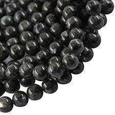 Buy Onewy 10mm <b>Natural</b> Black <b>Labradorite</b> Round <b>Larvikite</b> ...