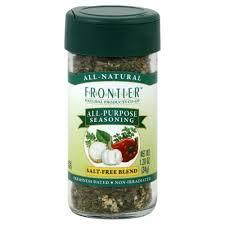 Frontier All-Purpose Seasoning Salt-Free Blend ... - Fry's Food Stores