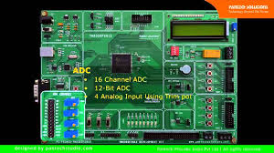 TMS320F2812 <b>Development Board</b> Features Demo- Part 1 - YouTube