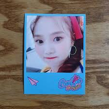 Hyojung Official Photocard <b>Printing</b> Concept Zone Oh <b>My Girl</b> Fall in ...