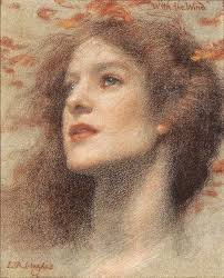 'With the Wind', Edward Robert Hughes · west-wind-walter-crane · Port_After_Stormy_Seas. 'With the Wind', Edward Robert Hughes - with-the-wind-edward-robert-hughes