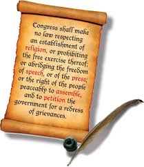 the first amendment is our most important right courtesy photo