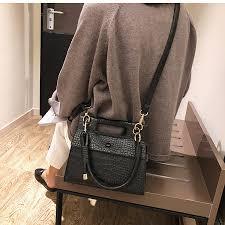 European Fashion Lady Tote bag <b>2019 New</b> Quality PU Leather ...