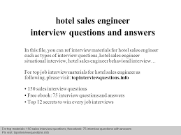 interview questions and answers –      pdf and ppt file    interview questions and answers –      pdf and ppt file hotel  s engineer interview