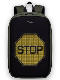 Рюкзак с led-экраном <b>Pixel</b> Max <b>Pixel</b> Bag 10407459 в интернет ...