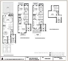 Floor Plan Archive  Town House   sq ft