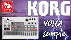 <b>Сэмплер KORG VOLCA sample</b> - YouTube