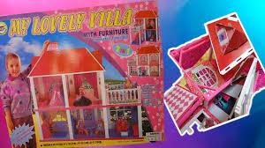 Обзор на домик для <b>кукол</b>. Дом-развалюха My lovely villa - YouTube