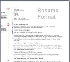 basic resume tempaltes and samples free  new resume format    new