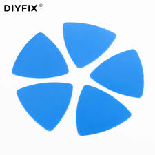 DIYFIX <b>5Pcs</b> Cell Phone Opening Tools <b>Thin</b> Plastic <b>Guitar</b> Pick Pry ...