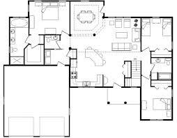 floor plan open ideas