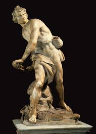 love this shot better you can really see the detail of bernini s david i had to write a comparative essay about this michelangelo s david and donatello s david i m not sure if i prefer his or michelangelo s