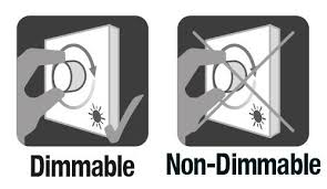 <b>Dimmable</b> and Non-<b>Dimmable LED lamps</b> | Integral LED