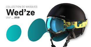 Wed'ze ski goggles collection 2017 - 2018