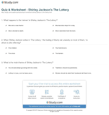 essay on the lottery by shirley jackson essay on the lottery by shirley jackson get help from