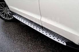 <b>Подножки боковые</b> (<b>пороги</b>) <b>BMW</b> Style на Hyundai Santa Fe ...
