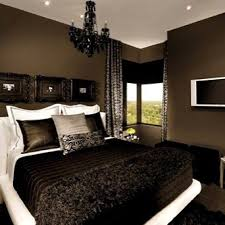 brown black and white color scheme perfect blend of light and dark bedroom ideas dark