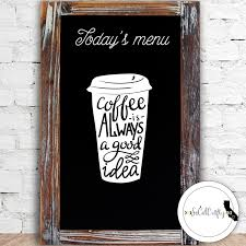 kitchen decor coffee cup heart stickers home coffee vinyl decal laptop decal laptop sticker car window decal coffee