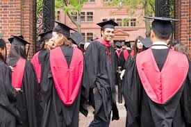 what is the roi for getting a master s in engineering the short harvard class of 2015 graduates in harvard yard
