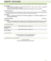 food service director resume sample cipanewsletter resume food service director