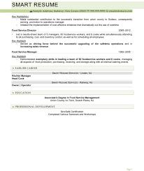 food service director resume sample cipanewsletter resume food service director
