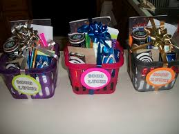 17 best ideas about college gift baskets college going away to college gift baskets i made contents contain starbucks gift card and bottled