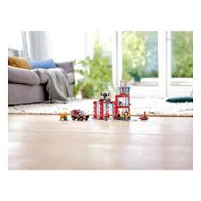 <b>Конструктор LEGO City Fire</b> 60215 Пожарное депо — купить в ...
