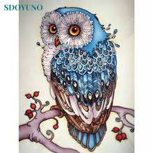 <b>5D Diamond</b> Painting Owl <b>Diamond Mosaic DIY</b> Rhinestones ...