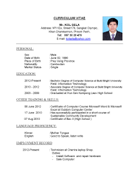 cv page curriculum vitae examples co cv page 1 curriculum vitae examples