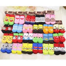 <b>lovely pet</b> Fashion Pets Dogs Socks <b>4Pcs Cute</b> Puppy Dogs <b>Pet</b> ...