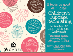 psd kids flyer templates children s cupcake decorating psd kids flyer templates children s cupcake decorating