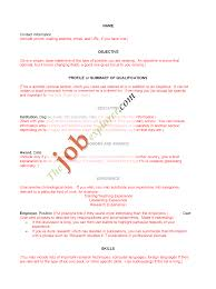 sample resumes new college graduate resume sample sample resumes sample resume template cover letter and writing tips resumes template ejemplos curriculum