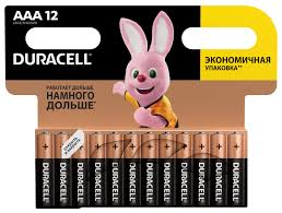 Купить <b>AAA Батарейка DURACELL</b> Basic LR03-12BL MN2400 в ...
