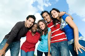 SDE  SDE Teen Dating Violence Picture of Teens Smiling