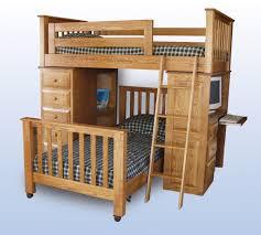 furniture bed desk dresser combo home