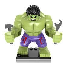 <b>Compatible</b> Legoing <b>Marvel Hulk</b> Figures 2018 New Big Legoing ...