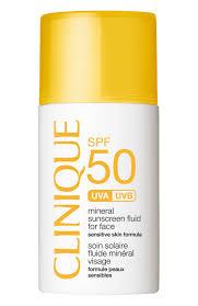 <b>Солнцезащитный минеральный флюид для</b> лица с SPF50 ...