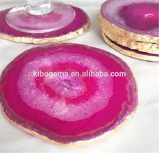 Pink <b>Natural</b> Deco <b>Agate Slices</b> Wholesale Cheap Factory Price 90 ...