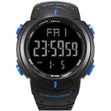 Buy <b>Big</b> Face Army Digital <b>Men's Watch Sport</b> 50 Meters Waterproof ...