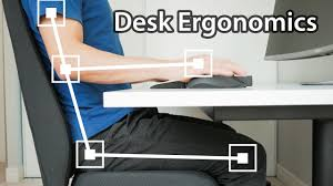 5 Ways You're Sitting Wrong at Your <b>Desk</b> - <b>Computer Desk</b> Setup ...