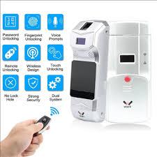 WAFU Fingerprint Password Door Lock Wireless Remote Control ...