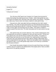 essay compare and contrast high school versus college  essay compare and contrast high school versus college essay general