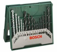 <b>Набор сверл</b> по <b>металлу</b>/<b>дереву</b>/<b>камню</b> 15 шт. Bosch 2607019675 ...